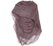 Drapiertes Top aus Stretch-Baumwolle