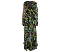 Robe Vivian aus Seiden-Chiffon