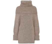 Strickpullover aus Wolle und Yak