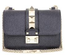 Garavani Schultertasche Lock Mini aus Leder