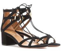 Sandaletten Beverly Hills 50 aus Veloursleder