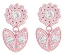 Verzierte Ohrringe aus Sterlingsilber