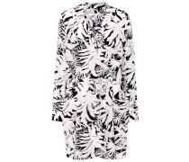 Bedrucktes Kleid Emmanuelle aus Seide