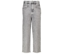 High-Rise Straight Jeans Dilali