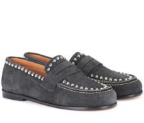 Exklusiv bei mytheresa.com – Loafers Fenzay aus Veloursleder