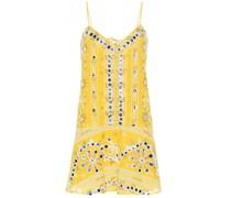 Verziertes Kleid aus Baumwolle