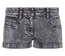 Low-Rise Jeansshorts