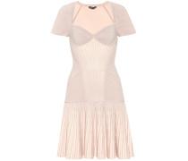 Kleid mit Wolle und Seide