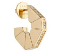 Einzelner Ohrring Carey aus 18kt Gold