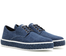 Sneakers aus Denim
