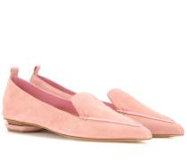 Slippers Beya aus Veloursleder