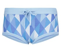 Shorts aus Jacquard-Strick