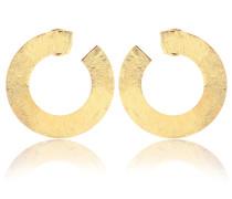 Ohrringe Les Jumelles aus 18kt vergoldetem Messing