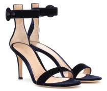 Sandaletten Portofino 105 aus Samt
