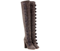 Overknee-Stiefel Ulyana 105 aus Veloursleder