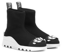 Verzierte Sock Boots
