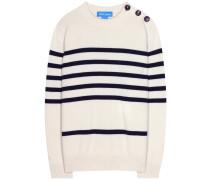 Gestreifter Cashmere-Pullover