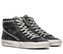 Sneakers Slide Classic aus Leder