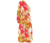 One-Shoulder-Kleid Sangria