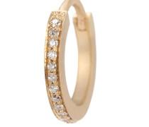 Kreole Daisy aus 18kt Gelbgold mit Diamanten
