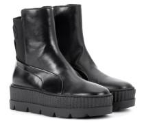 Sneaker-Boots Chelsea aus Leder