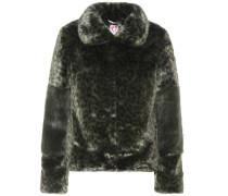 Jacke Alpin aus Faux Fur