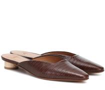 Slippers Carmen aus Leder