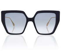 Sonnenbrille Baguette aus Acetat