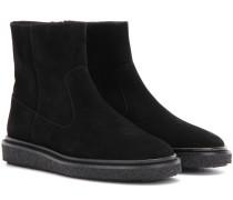 Ankle Boots Étoile Connor aus Veloursleder
