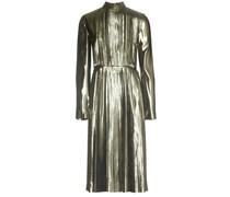 Metallic-Kleid aus Seidengemisch
