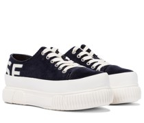 X Both Plateau-Sneakers aus Cord