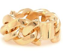Vergoldeter Ring aus Sterlingsilber