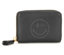Portemonnaie Small Zip-Around aus Leder