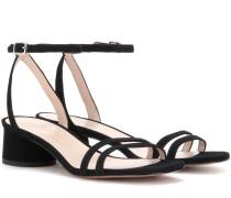 Sandalen Olivia aus Veloursleder
