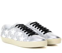 Sneakers SL/06 Court Classic aus Metallic-Leder
