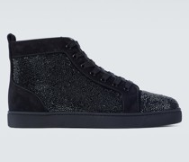 High-Top-Sneakers Louis Orlato aus Leder