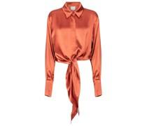Bluse Lido aus Satin