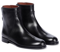 Ankle Boots Welly aus Leder