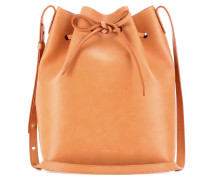 Bucket-Bag aus Leder