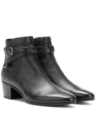 Saint Laurent Damen Ankle Boots Blake 40 Jodhpur Auftrag Angebot Zum Verkauf Billig Verkauf Offiziell nfld4DcJ9