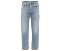 Mid-Rise Straight Jeans McKenzie