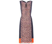 Bedrucktes Kleid Aubriana aus Seide