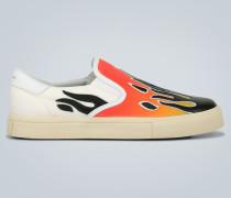 Verzierte Slip-On Sneakers