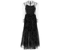 Verziertes Kleid Nicol aus Tüll