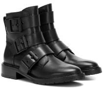 Ankle Boots Cannon aus Leder