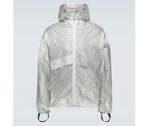 Reflektierende Windbreaker-Jacke