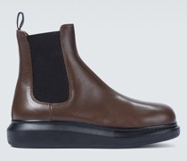 Chelsea Boots Hybrid aus Leder