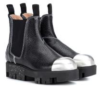 Ankle Boots Tillay Metal aus Leder