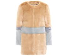 Mantel Garfunkel aus Faux Fur