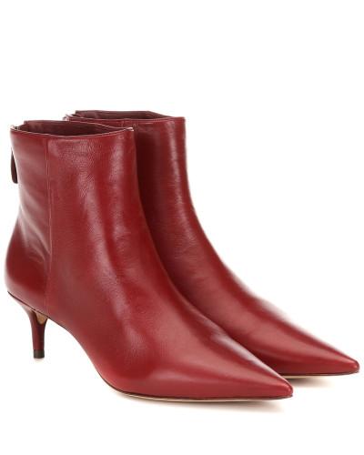 Ankle Boots Kittie aus Leder
